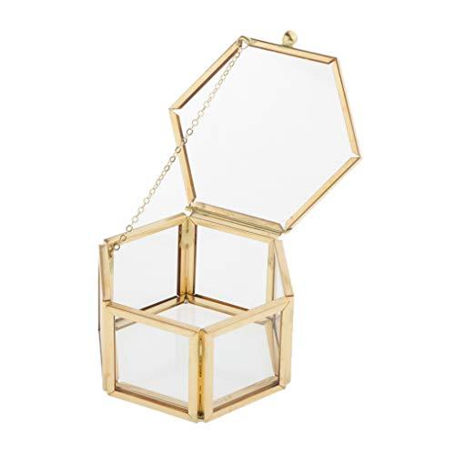 freneci Vanity Clear Jewellery Storage Box Soporte de Escaparate para Pulsera de Pendiente de Anillo