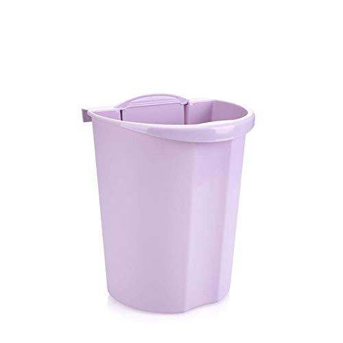 LXYZ Colgante/Vertical para Cocina y baño sin Tapa Bote de Basura/Bote de Almacenamiento, plástico, sin Perforaciones, sin Contacto, de Doble Uso.