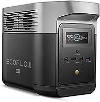 EF EcoFlow(エコフロー) ポータブル電源 DELTA mini 大容量 882Wh ポータブルバッテリー X-Boost機能付き 1.6時間フル充電 純正弦波 AC(1400W 瞬間最大2100W)/DC/USB出力 四つの充電方法...