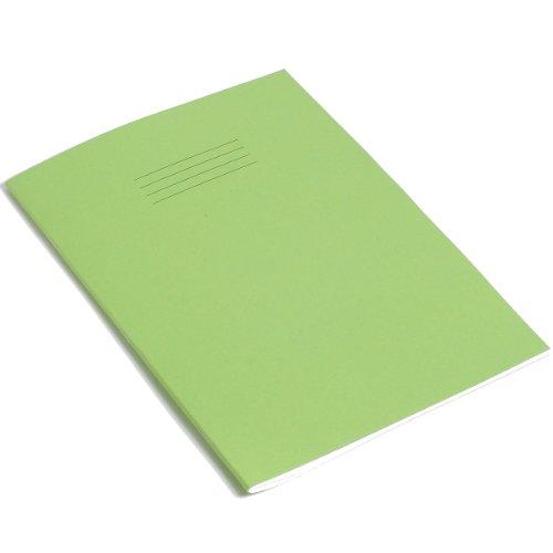 RHINO - Quaderno, formato A4, 64 pagine, confezione da 10, colore: Verde chiaro