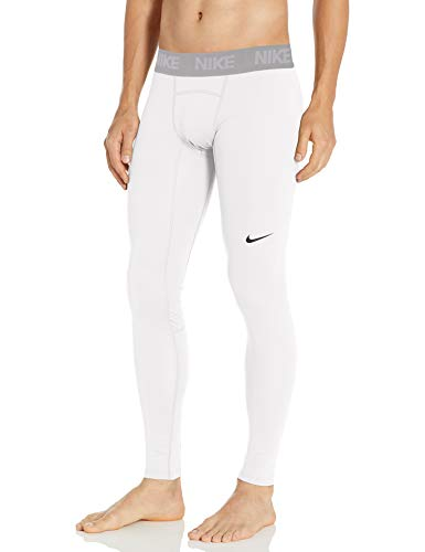 Nike Men's Baselayer Therma Tight, White/Vast Grey/Black, XX-Large