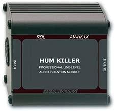 RDL AV-HK1X Hum Killer Audio Isolation Transformer
