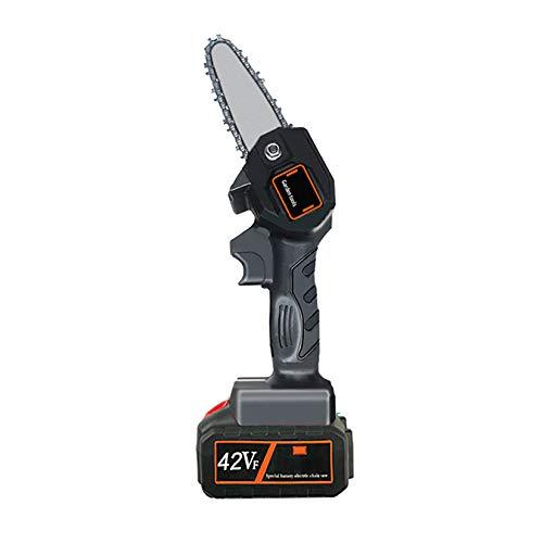 ZBL Mini motosierra eléctrica de mano, 24/36/42 V, protable, inalámbrica, para cortar ramas de madera