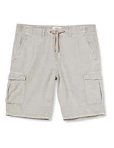 ESPRIT Herren 040EE2C312 Shorts, 040/LIGHT Grey, 34