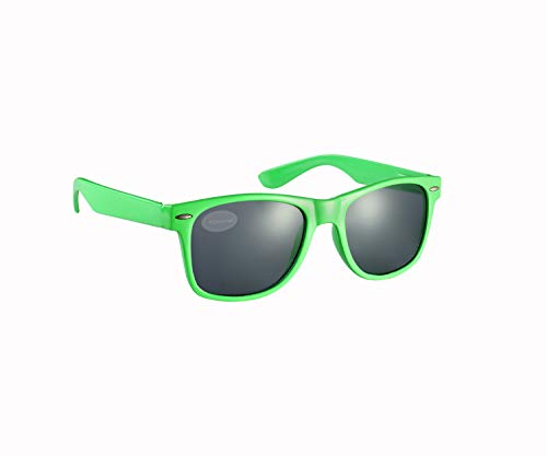 Komonee Grün Drifter Stil Sonnenbrille UV400 Schutz Unisex