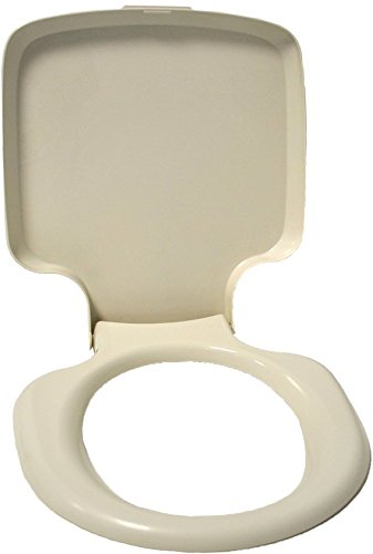 Thetford Porta Potti Qube 145/165/345/365 Toilettensitz mit Deckel grauweiß