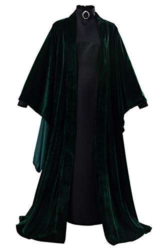 RedJade Minerva McGonagall Suit Cosplay Kostüm Grün Damen XXL