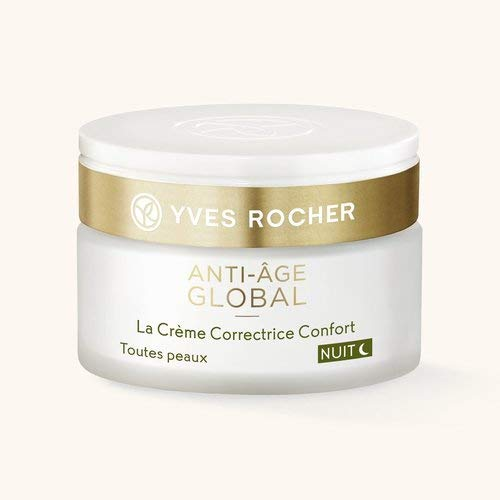 Yves Rocher Vegan Anti Age Global Night Comfort Corrective Cream - Todo tipo de piel