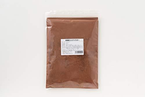 低脂肪ココアパウダー 500g 無添加 砂糖不使用 カカオ 健康食品 国内製造 チョコレート お菓子
