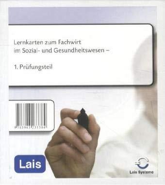 Lernkarten zum Fachwirt im Sozial- und Gesundheitswesen - erster Prüfungsteil