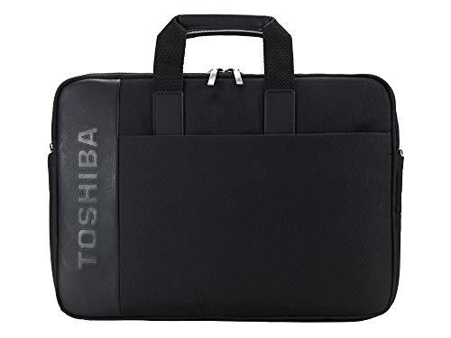 Elegante Bolso dynabook para portátil de 14 Pulgadas. Acolchado para protección. Bolsillo para Accesorios. Asa y Bandolera cómodos. Maletín Resistente para portátil para Uso Personal o empresarial