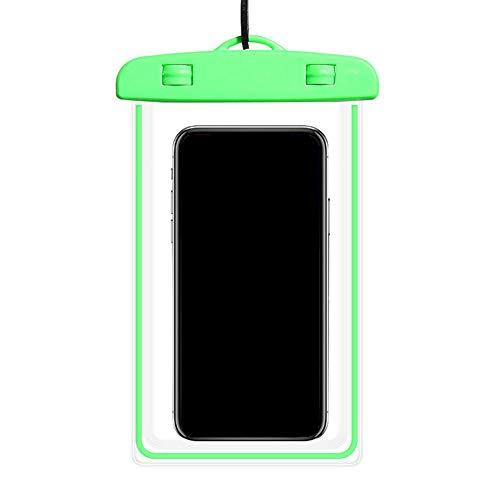 Kanggest.Funda Impermeable Móvil Universal para IPX8 Bolsa Impermeable Móvil Funda Sumergible para iPhone Huawei P10 P9 Samsung y Otros Móviles hasta 6.3 Pulgadas para Natacion Bucear Viajes