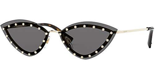 Valentino occhiale da sole VA2033 300387 oro fumo taglia 62 mm donna