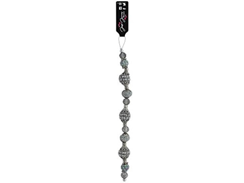 Jesse James Buttons Jesse James Beads Pantone Strand #2 Neutral Gray