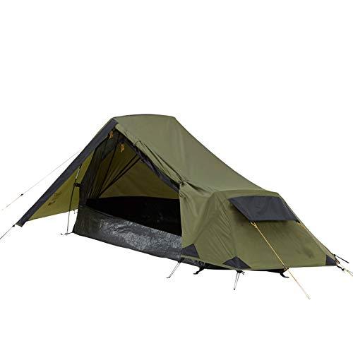 Grand Canyon RICHMOND 1 - tienda de túnel para 1 persona, ultraligera, impermeable, tamaño pequeño, tienda para trekking, camping, exterior | Capulet Olive (verde)
