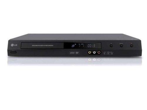 LG RH 266 B - Grabador de DVD y Disco Duro (160 GB), Color Negro