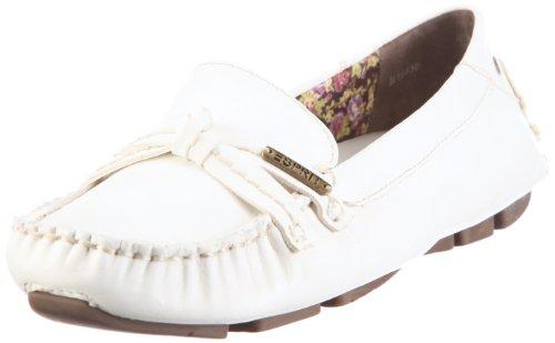 ESPRIT Barbara B10430, Damen Halbschuhe, Weiss (white 100), EU 42