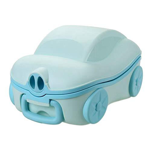 Glenmore Vasino Viaggio Potty Portatile Bambini WC Pieghevole Blu