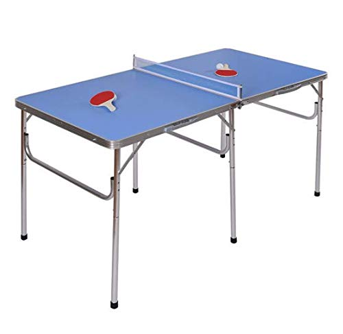 Read About Sunil Ping Pong Table Portable Folding Tennis 60 w/Accessories