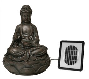 Solaray Water Feature Solar Powered Buddha OGD152