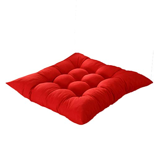 Cojín para el cojín de la silla Cojines de los asientos - Inicio del asiento del cojín del amortiguador Oficina invierno Silla de la barra del asiento trasero de cojines del sofá almohadilla de la sil