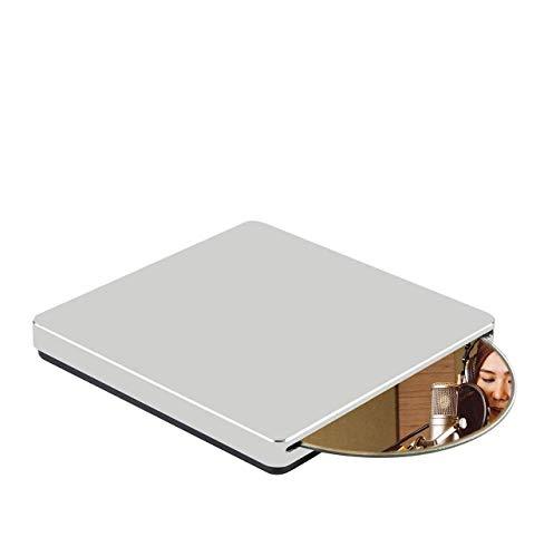 Graveur Lecteur DVD Externe Blu Ray, KuWFi USB3.0 Type-C Portable Slim Automatique à chargement par fente CD/DVD-RAM/BD-ROM Graveur/graveur Superdrive +/- RW pour ordinateur portable Windows Mac OS