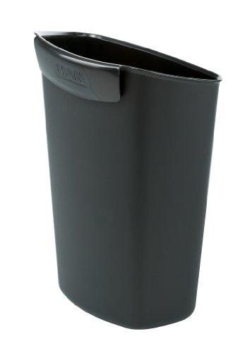HAN 18355-13 Papierkorb Abfalleinsatz, 2,5 Liter Volumen für 18190 u.18130, schwarz
