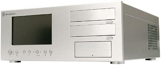Silverstone LC18S-V64 Aluminum ATX Media Center/HTPC Case - Retail (Silver)