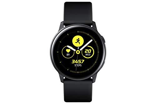 Samsung - Montre Galaxy Watch Active - Noir Pure - Version Française