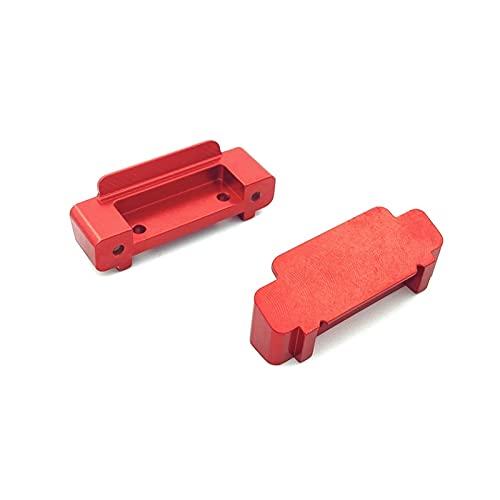 NIDUNO Rc Accessoires d'apparence de Mise à Niveau de Voiture Anti-Collision de Voiture for 1/18 WLToys A949-B A959-B A969-B A979-B RC Voiture de chenilles (Couleur : Red 2pcs)