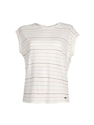 Pepe Jeans dames T-shirt lini/katoen gestreept