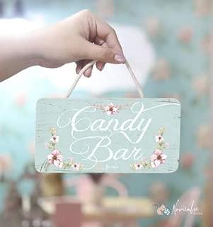 Noviembre Dulce Cartel de Boda Candy Bar
