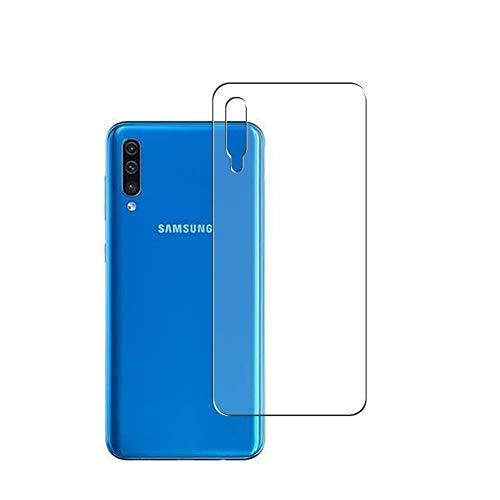 Vaxson 2 Unidades Protector de pantalla Posterior, compatible con Samsung Galaxy A505 A50 [No Vidrio Templado] TPU Película Protectora Espalda Skin Cover