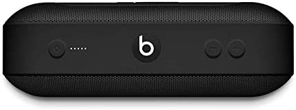Beats Pill+ Portable Wireless Speaker - Stereo Bluetooth, 12 Hours of Listening Time, Microphone for Phone Calls - Black