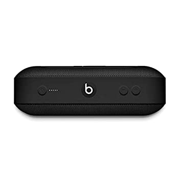 Beats Pill+ Portable Wireless Speaker - Stereo Bluetooth 12 Hours of Listening Time Microphone for Phone Calls - Black