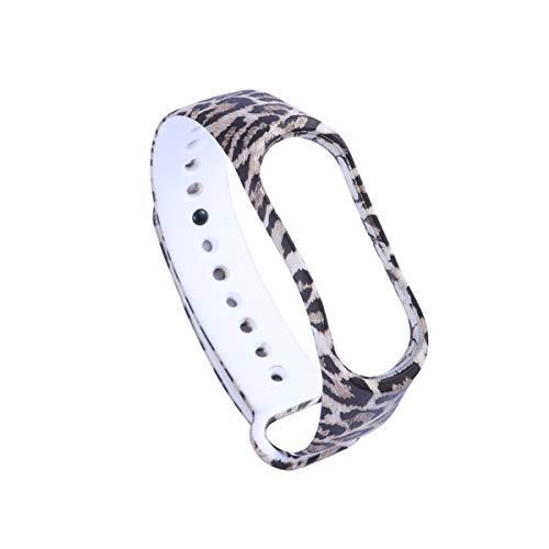 UKCOCO Stylish Ersatz Ersatz Silikon Wriststrap Wrist Strap Wristlet für Miband 3 Xiaomi 3 Smart Bracelet