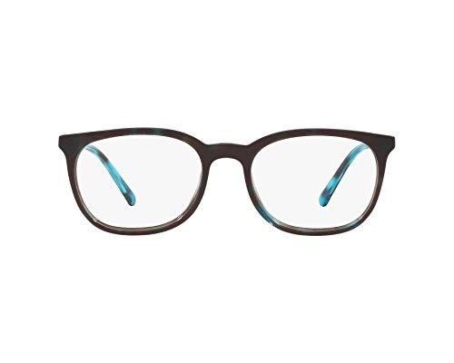 BURBERRY - Montura de gafas - para hombre Azul dunkel blau - marmor stil blau Large