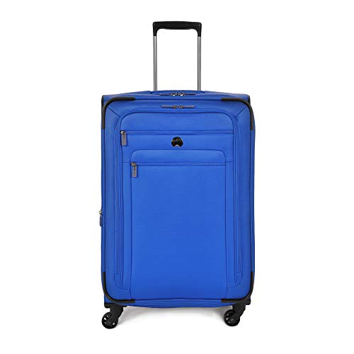 DELSEY Paris Delsey Luggage Helium Sky 2.0 25 Expandable Spinner Trolley (Blue)
