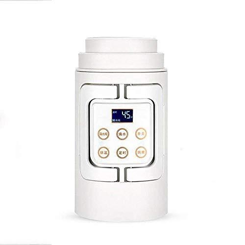Elise wit 0.7L opvouwbare reis-waterkoker Food Grade Silicone Collapsable draagbare waterkoker, gemakkelijk & gemakkelijke opslag 110-240V