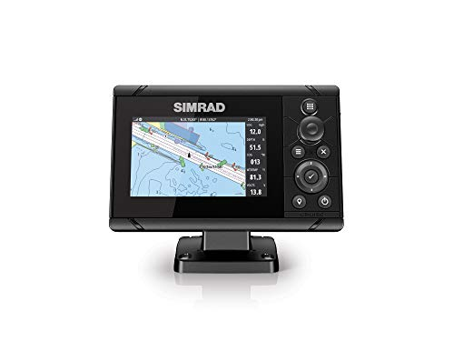 Simrad Cruise-5 Chart Plotter with a 5-inch Screen and US Coastal Maps Installed
