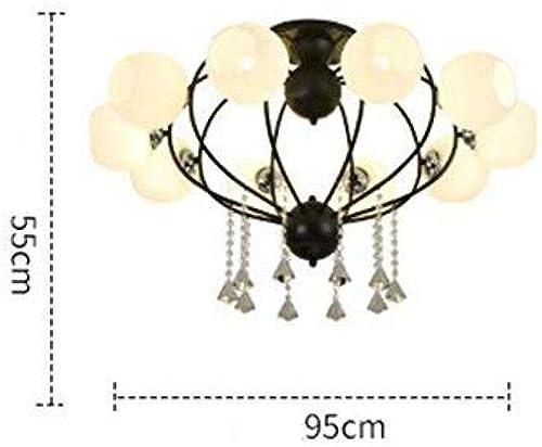 descuento de ventas Dome light Lámpara Minimalista Moderna Moderna Moderna de la Sala de Estar, lámpara del Dormitorio, lámpara del Comedor, lámpara Fija de la Moda casera  precio al por mayor