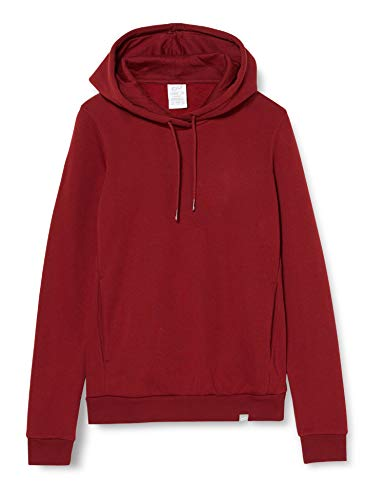 CARE OF by PUMA Damen-Kapuzenpullover mit Fleece-Futter, Rot (Red), 36, Label: S