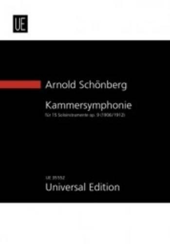 Kammersymphonie Nr. 1: op. 9. für 15 Soloinstrumente. Studienpartitur. (New Study Score Series)