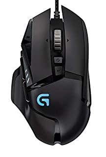 Logitech G502 Proteus Spectrum RGB Tunable Gaming Mouse, 12,000 DPI On-The-Fly DPI Shifting, Personalized Weight and Balance Tuning with (5) 3.6g Weights, 11 Programmable Buttons (B019OB663A)   Amazon price tracker / tracking, Amazon price history charts, Amazon price watches, Amazon price drop alerts