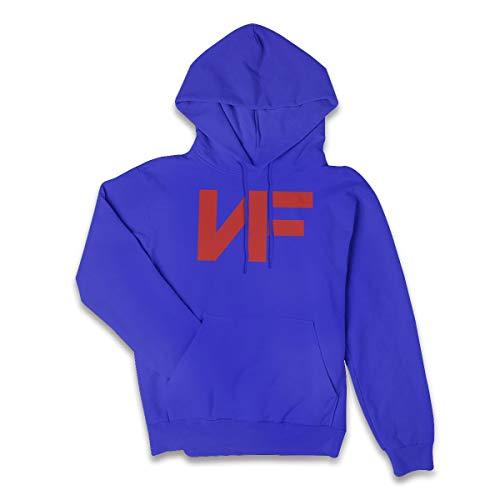 Lucyhu Damen Kapuzenpullover Nf Rapper Logo Red Pullover Hoodie Langarm Blue S Sweatshirt Kapuze Für Frauen Bekleidung