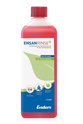 Enders Ensan Rinse 1 L – Ange Bleu pour Camping et Toilettes Rouge