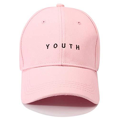 Casquette de baseball lettre de mode jeunesse broderie casquette de baseball pour femmes hommes coton casquette de baseball garçons filles filles hip hop chapeau casquettes Casquette de Baseball de Sp