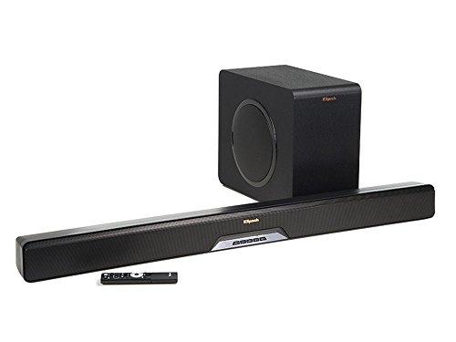 Klipsch 1063118 Reference RSB-11 Sound Bar mit Wireless Subwoofer schwarz