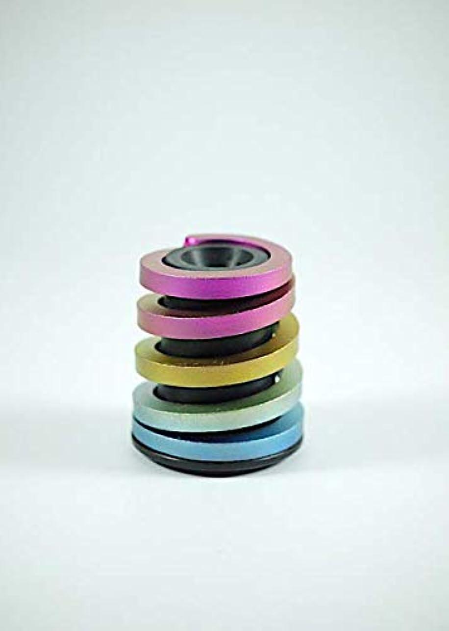 主要な羊飼い徹底Rainbow Titanium Suspension Block for Brompton Folding Bike