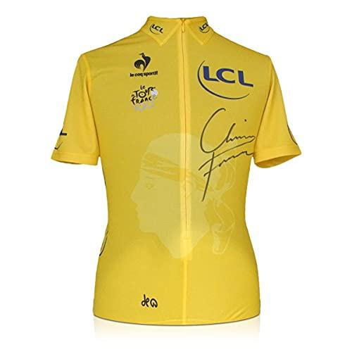 Exclusive Memorabilia Maglia Gialla Tour de France 2013 autografata da Chris Froome